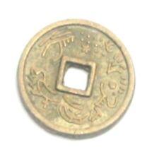 Chinesische Glücks Münze 10 St. ca.10 mm.Feng Shui Amulett``Mineralien Stein