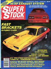 Super Stock & Drag Illustrated Fast Brackets & Funny Cars EX 012616jhe