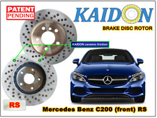 """Mercedes Benz C200 disc rotor KAIDON (front) type """"RS"""" spec"""