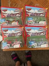 Disney Pixar Cars diecast Mattel Race O Rama pit race off launchers Set Of 4