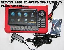 MEDIDOR DE CAMPO SATLINK 6980 HD DVB-S2 / DVB-T2 / DVB-C / Fibra Optica español