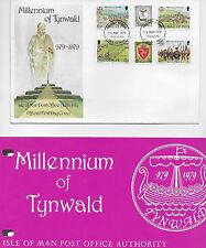 MILENNIUM OF TYNWALD FDC 1979 AND PRESENTAION PACK