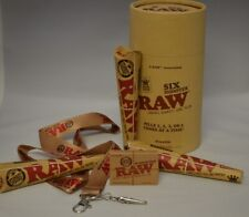 Raw King 6 Shooter Cone Loader, 3 Pk Cones, Hydrostone & Raw Lanyard Roach Clip