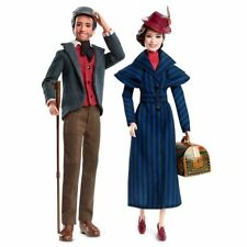 Barbie Doll Mary Poppins Returns with Jack the Lamplighter FRN83 Disney