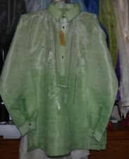 Barong tagalog hand embroidery XL WITH LINING