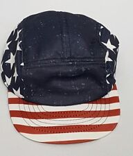 f02d8d223cca1 Old Navy American Flag USA Adjustable Baseball Cap Hat Lightweight Polyester