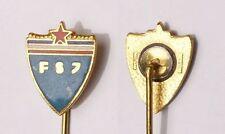 Yugoslavia   FSJ - YUGOSLAV FOOTBALL FEDERATION Bertoni - Milano enameled pin RR