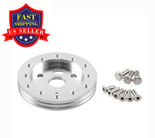 "Wilsondyno 0.5"" Hub For 6 Hole Steering Wheel To Fit Grant APC 3 Hole Adapter"