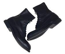 Vtg '94 Wolverine World Wide Black Boots Steel Toe Military Combat Men 10.5