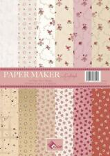 A4 Paper Maker cardmaking craft pad hearts & flowers Craftstyle 185gsm 48 sheets