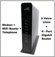 ARRIS TG1682G Dual Band Wireless Telephony Cable Modem + WiFi Router + Voice