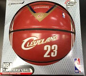 Spalding NBA Player Jersey Basketball Cavs Lebron James 23 Rookie Ball New RARE
