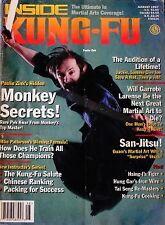 8/97 INSIDE KUNG FU MIKE PATTERSON PAULIE ZINK BLACK BELT KARATE MARTIAL ARTS