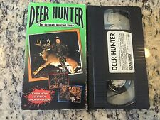DEER HUNTER THE ULTIMATE HUNTING VIDEO RARE VHS 1998 BAG A TROPHY BUCK HOW TO!