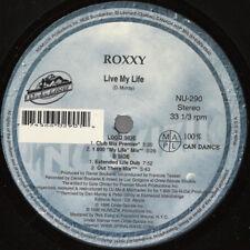 """Roxxy (2) - Live My Life / VG+ / 12"""", Maxi"""