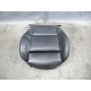 2000-2006 BMW 3-Series E46 Right Sport Seat Bottom Cushion Black Leather OEM
