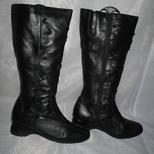Unbranded Women's Synthetic Wedge Knee High Boots