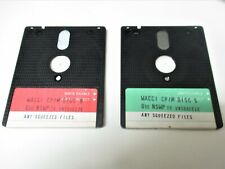 """Amstrad CPC6128 """"CP/M Disc 1 """"WACCI""""  disk 5 & 8  disk utilities etc   (working)"""