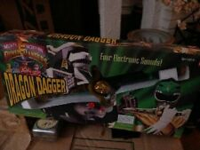Mighty Morphin Power Rangers Green Ranger Dragon Dagger 1994 Bandai NEW