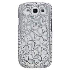 AMZER Synapse Snap On Hard Shell for GALAXY S 3 I9300 - White/ Black Craquelure