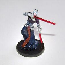 Star Wars Miniatures Asajj Ventress Separatist Sith Assassin Wargaming Figure