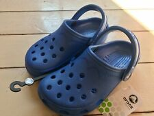 Women's Crocs Sea Blue Classic Summer Beach Clog Shoe