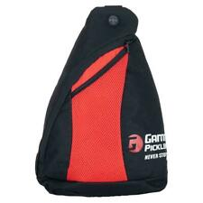 Gamma Pickleball Sling Bag Black and Red ( New w/o tags )