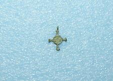 Ancient Bronze Pendant Cross  Kievan Rus, Byzantine, Viking c 11-13 AD