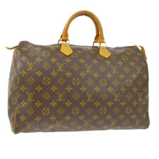 LOUIS VUITTON SPEEDY 40 HAND BAG MONOGRAM CANVAS LEATHER M41522 SP0945 AK43529