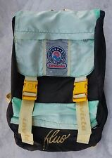 RARO ZAINO INVICTA FLUO VINTAGE CARTELLA BAG ANNI '90 ZAINETTO backpack sac IN7