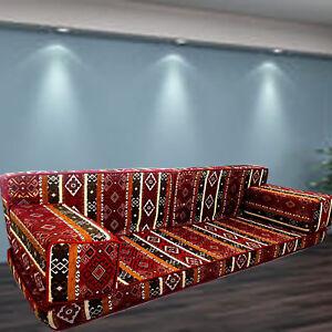 HANDMADE Bench Cushions | MAJLIS Floor Seating | MODULAR Sofa Set