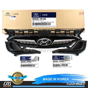 GENUINE Radiator Grille & Fog Lamp Cover Set for 2012-2014 Hyundai Accent⭐⭐⭐⭐⭐
