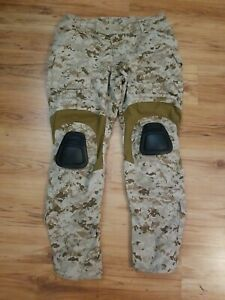 crye precision Combat Pants Aor1 with knee pads size 36 R