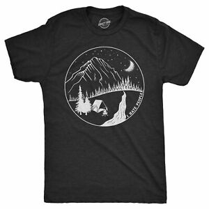 Mens I Hate People Camping T shirt Funny Sarcastic Happy Camper Gift Hiking