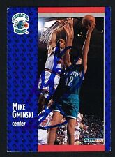 Mike Gminski #254 signed autograph auto 1991-92 Fleer Basketball Trading Card
