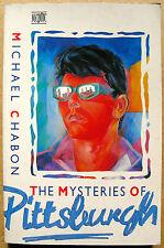 Roman The Mysteries of Pittsburgh Michael Chabon Sex