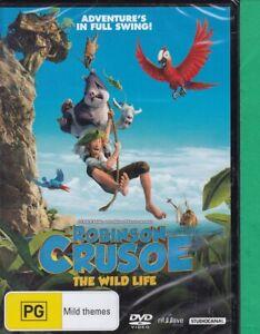Robinson Crusoe : Brand New Sealed (F, DVD, 2016, Region 4)