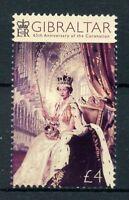 Gibraltar 2018 MNH Queen Elizabeth II Coronation 65th Ann 1v Set Royalty Stamps