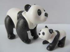 Playmobil Panda & baby cub NEW extra animals for zoo/safari themes