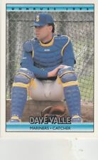 FREE SHIPPING-MINT-1992 Donruss #462 Dave Valle Seattle Mariners Baseball Card