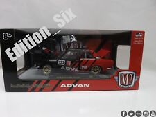 1:24 Scale 1970 Datsun 510 Advan Limited Edition Diecast Classic M2 Machines