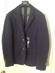 Brooks Brothers Blue Sports Jacket Medium working buttons