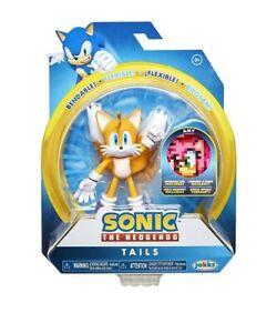 """Sonic The Hedgehog Tails 4"""" Bendable Action Figure Jakks Pacific New"""