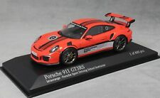 Minichamps Porsche 911 GT3RS Porsche Sport Driving School Lava Orange 413063254