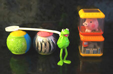 x5 Lot FISHER PRICE Peek a Boo Blocks Balls + Kermit the Frog Vintage Pig City