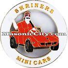 Z-90 Shriner Mini Cars Auto Emblem Shrine Temple Mason Masonic Car PHA Lodge