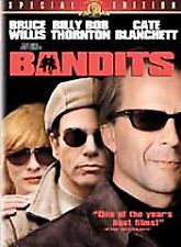 Bandits (DVD, 2002, Special Edition) RARE COMEDY BRUCE WILLIS BRAND NEW