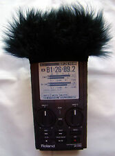 Fur Windscreen For The Roland R-26 Handheld Recorder