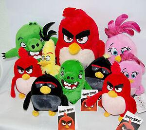 Angry Birds 2 der Film 2019 Plüschfiguren Plüschtiere Angry Birds Film Plüsch