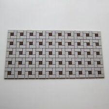 Vintage Porcelain 1950s Floor Tile, 599 Sq Ft Available, Made in Japan